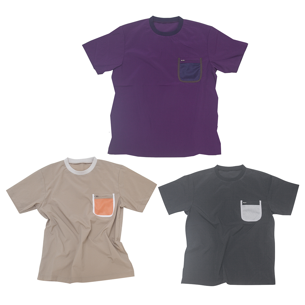 AWESOME TEE オーサム T シャツ Number : s20-so-11 Fabric : Nylon 100% Size : S, M, L, XL Color:Purple, Beige, Black Price : ¥8,000