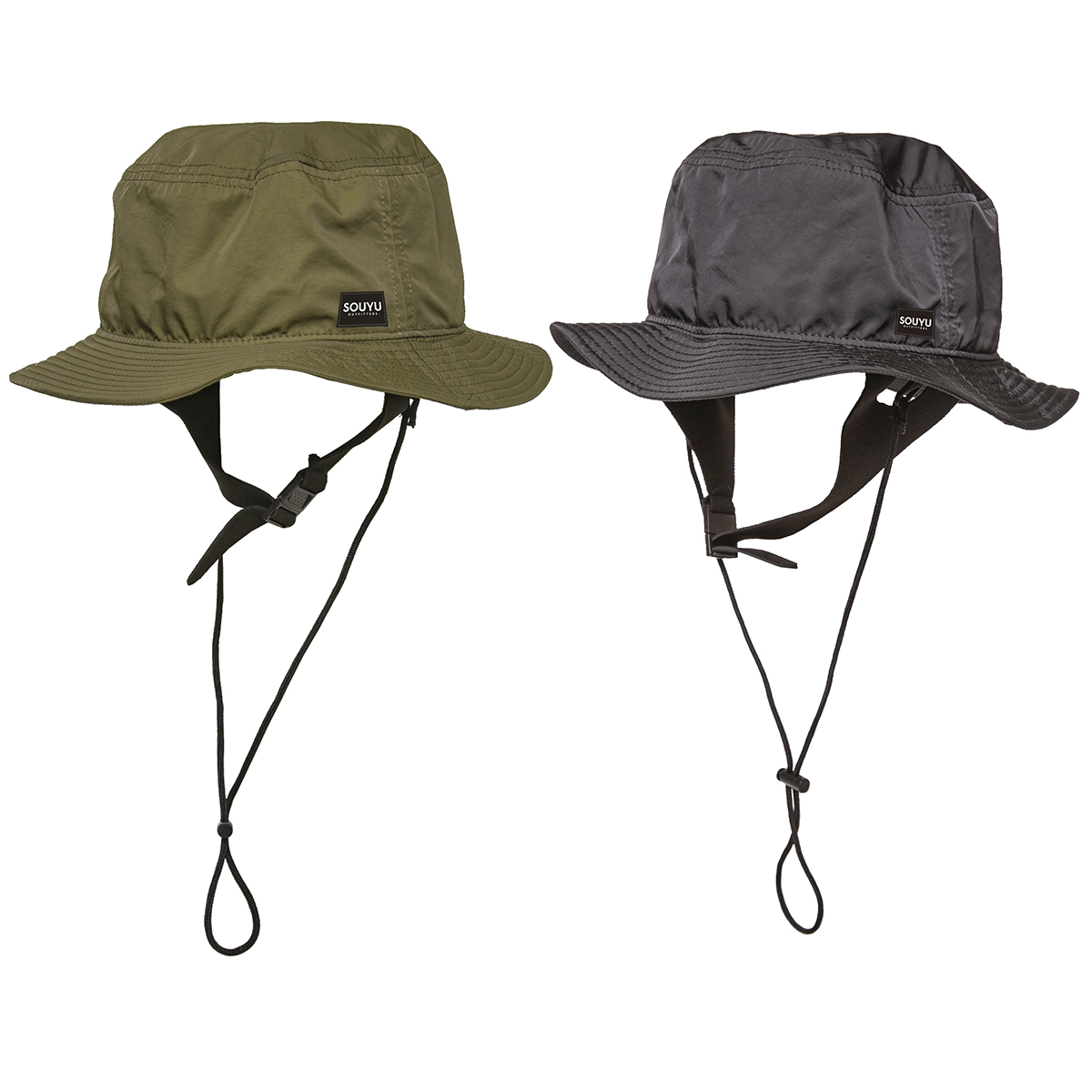 ADVENTURE HAT アドベンチャーハット Number : s20-so-13 Fabric : Polyester 100% Size : FREE Color:Olive,Black Price : ¥5,800
