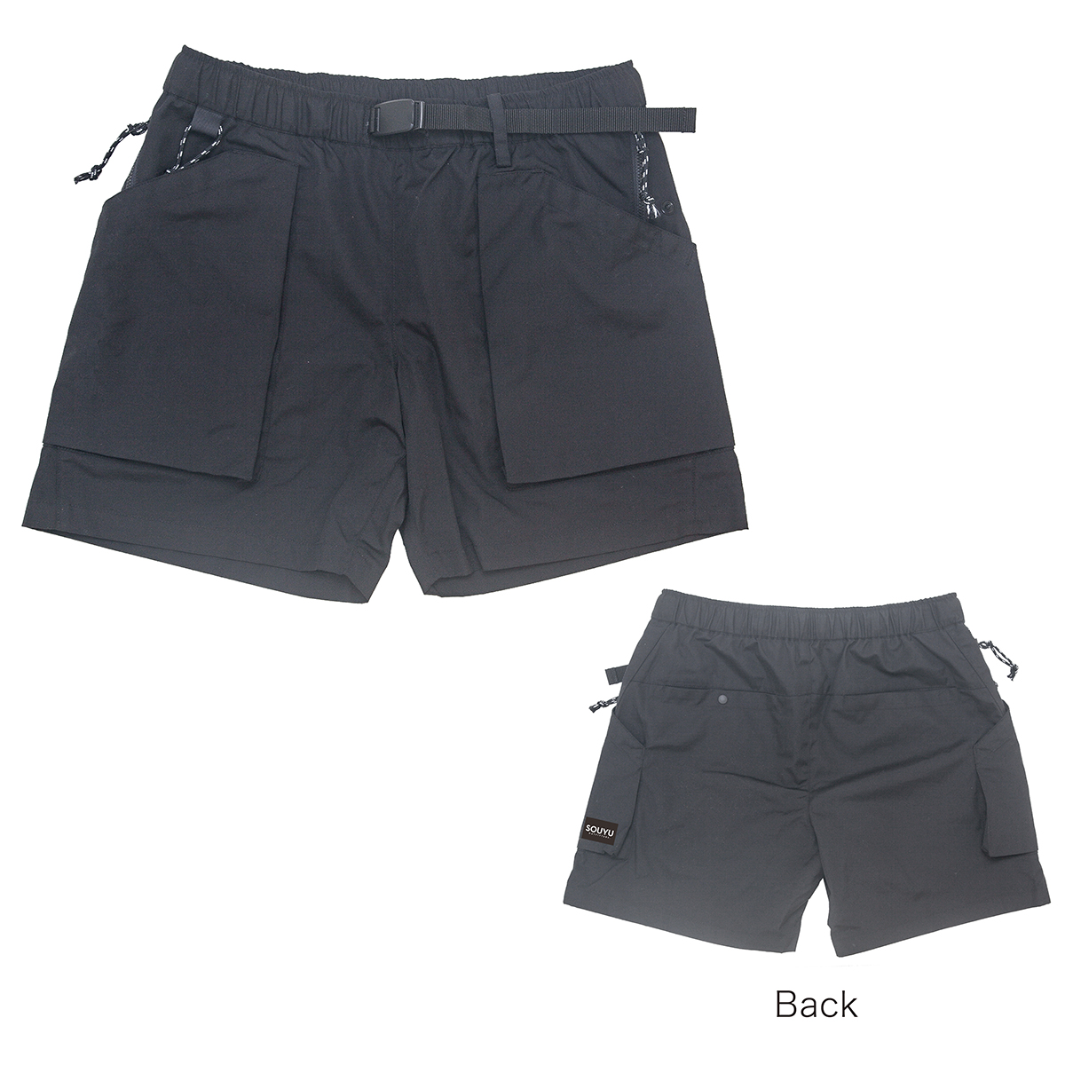 PLAYERS SHORT プレイヤーズショーツ Number : s20-so-02 Fabric : Polyester 65% Cotton 35% Size : S, M, L, XL Color:Black Price : ¥12,800