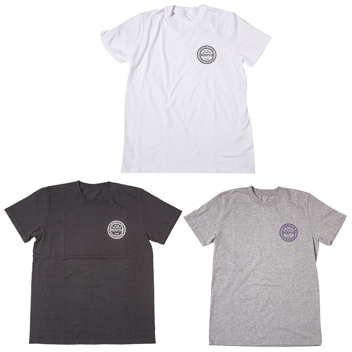 STD LOGO TEE スタンダードロゴ T シャツ Number : s20-so-10C Fabric : Cotton 100% Size : XS, S, M, L, XL Color:White, Black, Gray Heather Price : ¥4,800